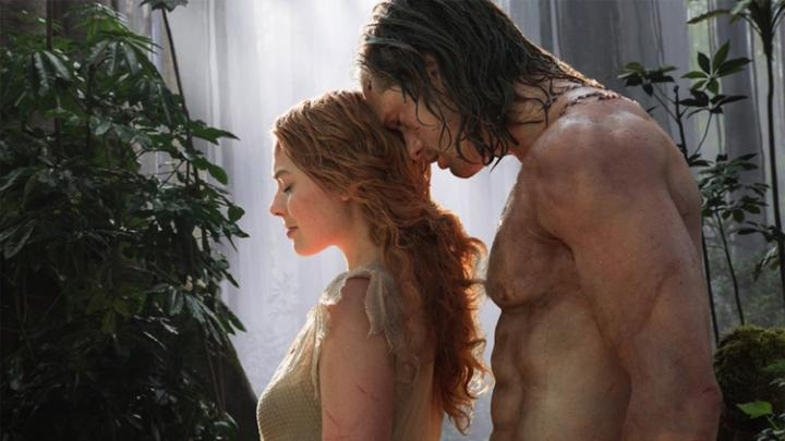 Margot-Robbie-Alexander-Skarsgard-legend of Tarzan